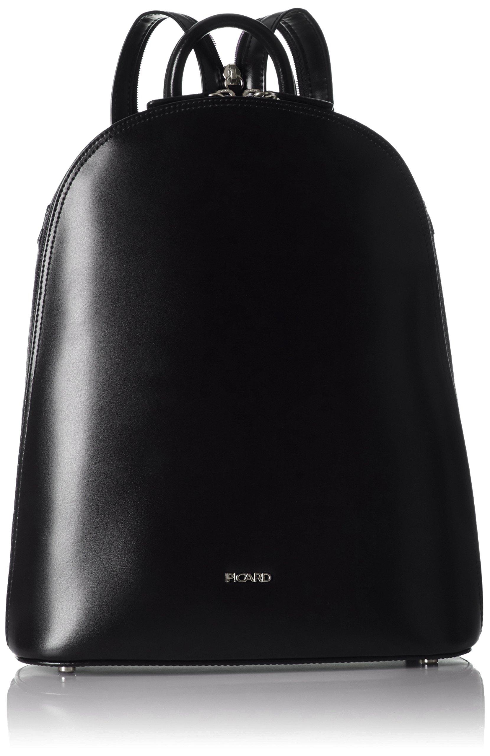Picard Berlin, Mochila para Mujer, Negro (Black), 10x31x25 cm (W x H x L)
