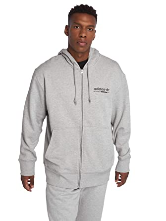 d3cb398550 adidas Originals Homme Hauts/Sweat Capuche zippé Kaval Fz: Amazon.fr:  Sports et Loisirs