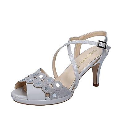 OLGA RUBINI Damen Sandalen, Beige - Beige - Größe: 37 EU
