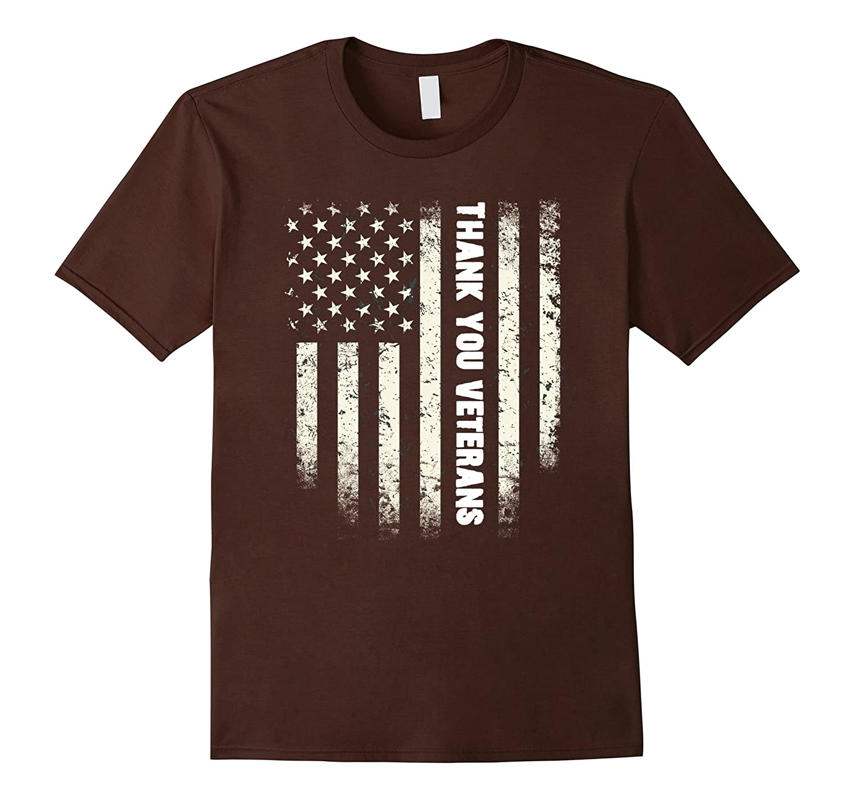 Thank You Veterans T Shirt, Thank You Veterans Flag Shirt