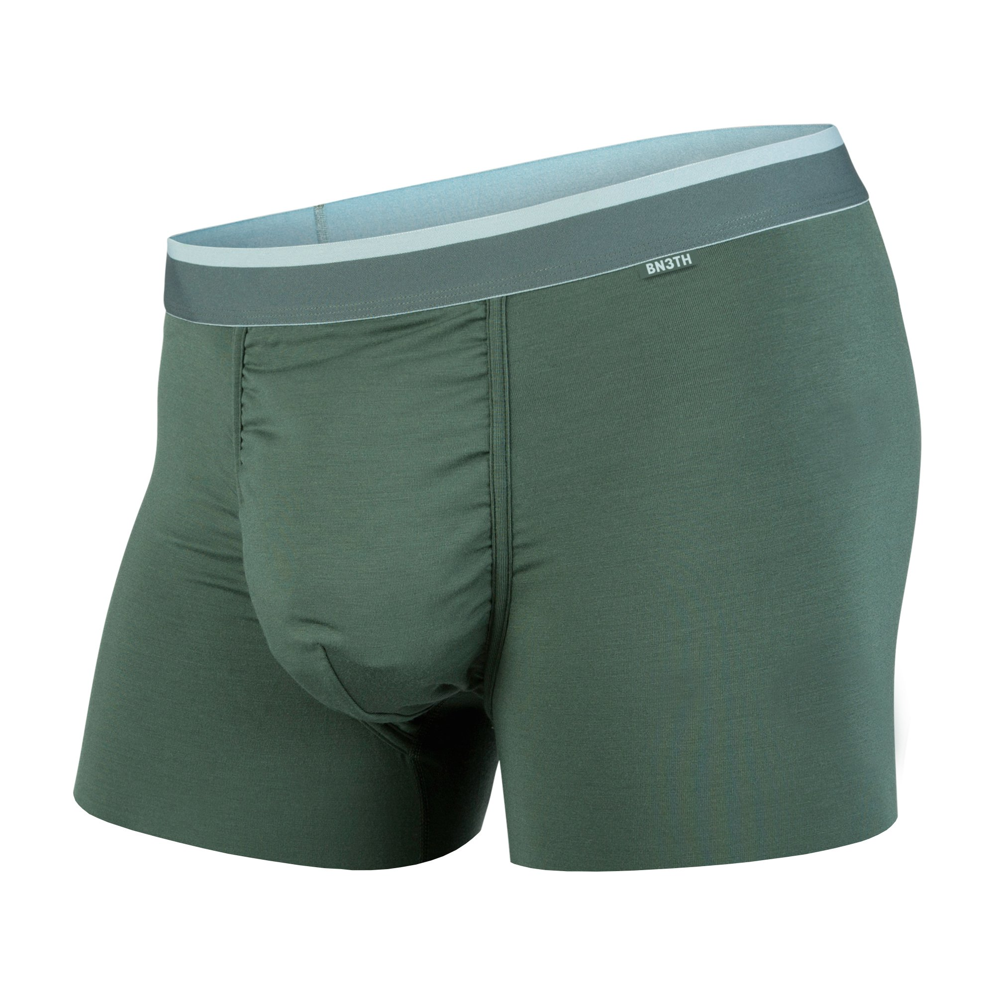 BN3TH Classics Trunk Base Layer Underwear, Medium, Moss/Bluestone