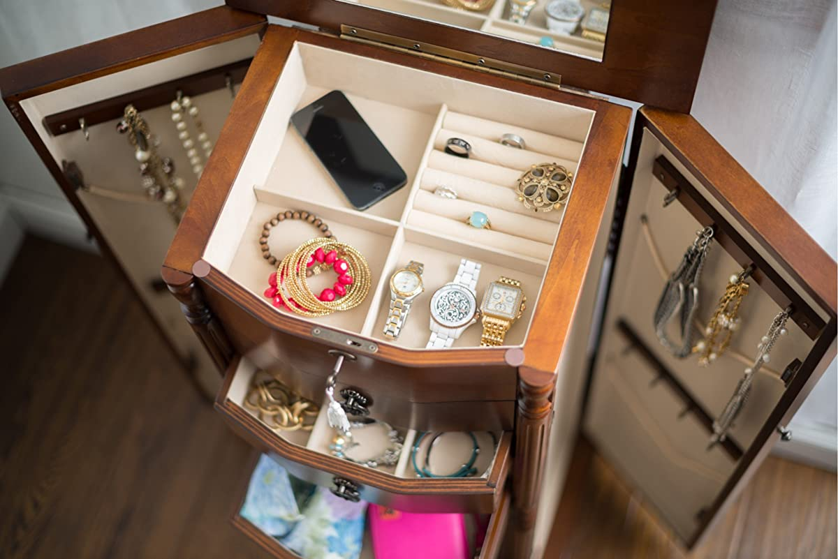 "Hives and Honey ""Robyn"" Jewelry Armoire"