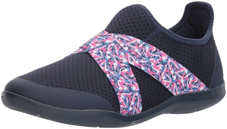 Crocs Women's Swiftwater Cross-Strap Slip On B01N9ICXSW 7 M US|Navy/Blue Jean