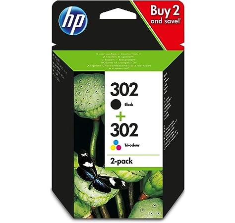 Hp - Combo 302 negro tricolor blister: Hp: Amazon.es: Oficina y papelería