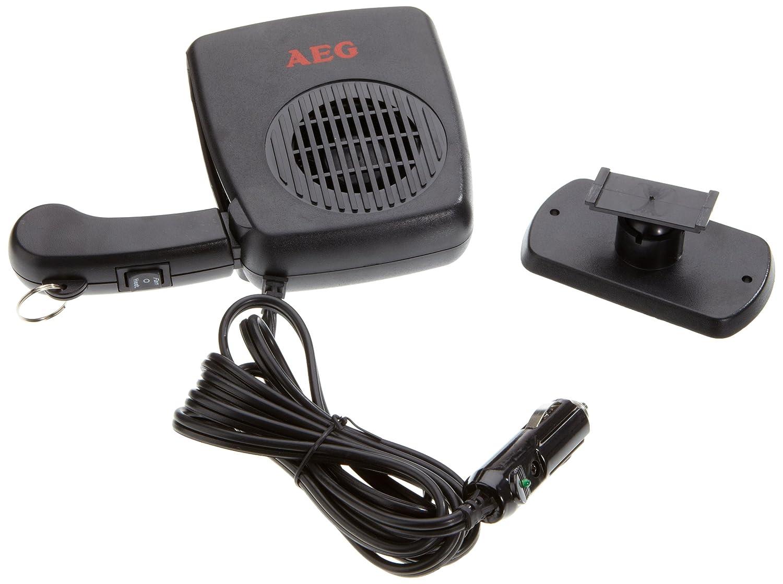 AEG 97201 Deshelador de ventanas con ventilador, caliente / frío, 150 Watios, con conexión de coche de 12 V , soporte de pie y agarre manual: Amazon.es: ...