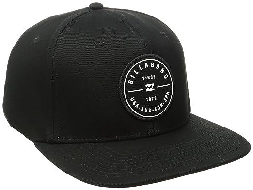 buy popular 7b1c2 082fb ... czech billabong mens rotor snapback hat black white one size e3881 aa8b1