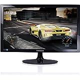 Samsung LS24D330HSU/EN Monitor da Gaming per PC Desktop 24'' Full HD TN, 1920 x 1080, 1 ms, 60 Hz, Game Mode, D-sub, Cavo HDMI Incluso, Nero [Versione Italiana]
