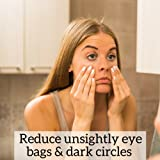 Age Defying Caffeine Eye Cream | 1 OZ | Puffy Eyes, Dark Circles, Fine Lines, Wrinkles | All Natural and Organic Ingredients: Hyaluronic Acid, Green Tea, Cucumber | Cruelty Free | Made in