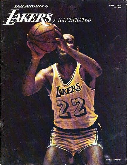 Dec 7 1969 Los Angeles Lakers Vs Atlanta Hawks Nba Program
