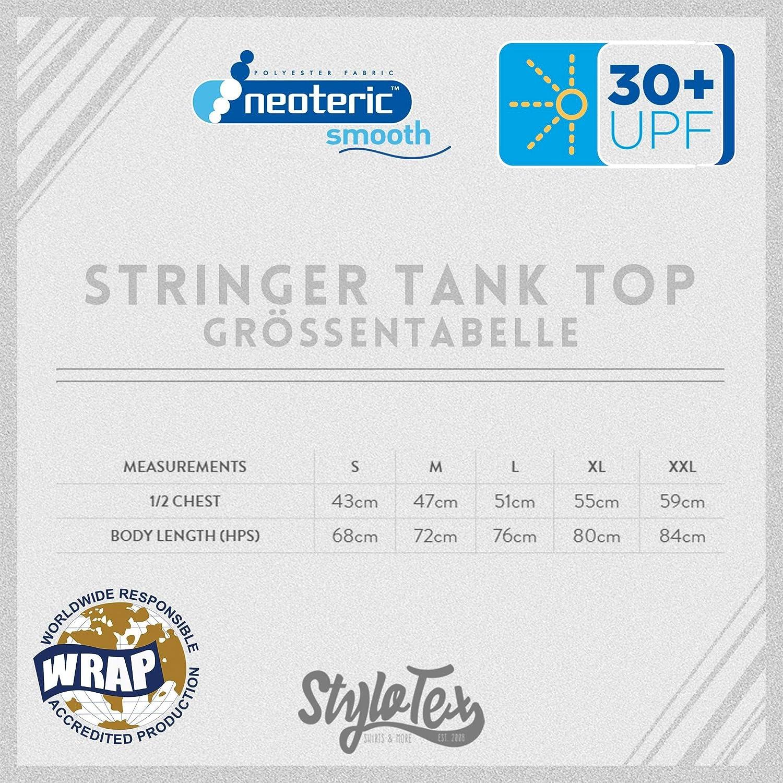 Funktionelle Sport Bekleidung M/änner /ärmellos Stylotex Stringer Fitness Tank Top Workout Mode Super Saiyan vintage Herren Gym Tshirts f/ür Performance beim Training