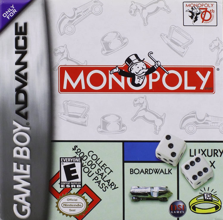 Monopoly (Gameboy Advance) [Importación Inglesa]: Amazon.es: Videojuegos