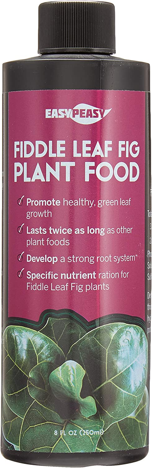 Fiddle Leaf Fig Plant Food 6-2-4 | Liquid Houseplant Fig Tree Fertilizer | Bottle Lasts Twice as Long as Other competitors