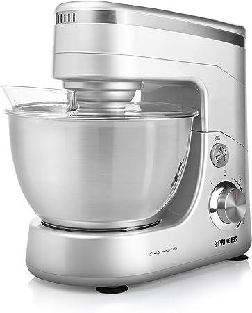 Princess 220120 Robot de Cocina, 600 W, 4.5 litros, Acero Inoxidable, Plata: Amazon.es: Hogar