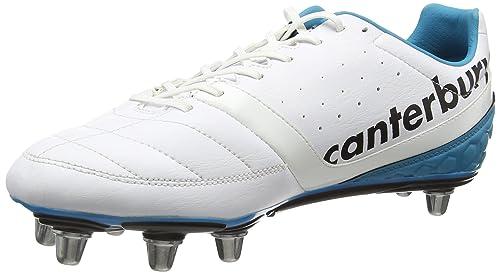 Canterbury Phoenix Club 8 Stud, Botas de Rugby para Hombre, Blanco (001 White), 41.5 EU: Amazon.es: Zapatos y complementos