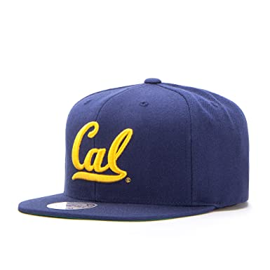 huge discount 5ef2d 7199f Mitchell   Ness Wool Solid Cal State Cap Base (One Size - Navy)