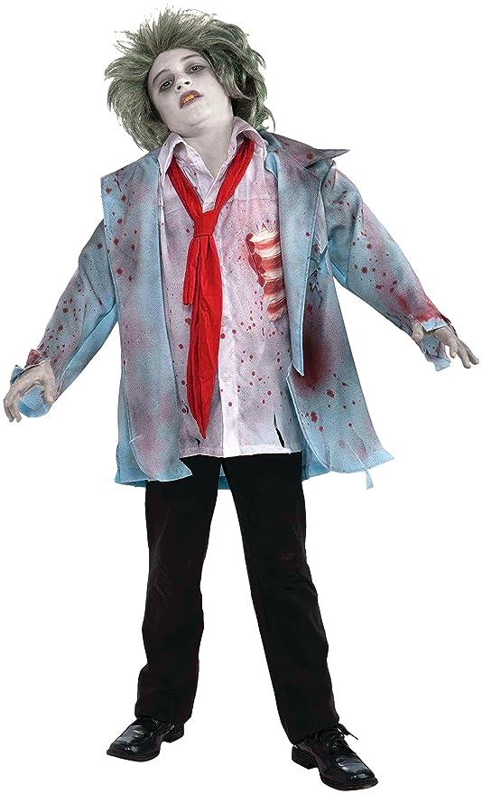 Disfraz de zombie para niño - 6-8 años: Amazon.es: Juguetes y juegos