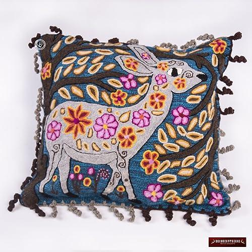 Amazon Alpaca Pillow Covers 40x40 Animal Deer Pillow New Peruvian Decorative Pillows