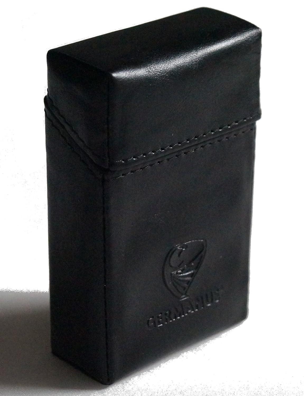 GERMANUS Tenebris - Made in EU - Zigarettenschachtel, Zigarettenbox, Packungsetui, Zigarettenetui, Überzug, Zigarettenhülle Überzug Zigarettenhülle