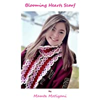 Blooming Hearts Scarf | Crochet Pattern: An Adorable Crocheted Infinity Scarf For...