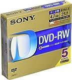 SONY データ用DVD-RW 1-2倍速 5mmケース 5枚パック 5DMW47HPS