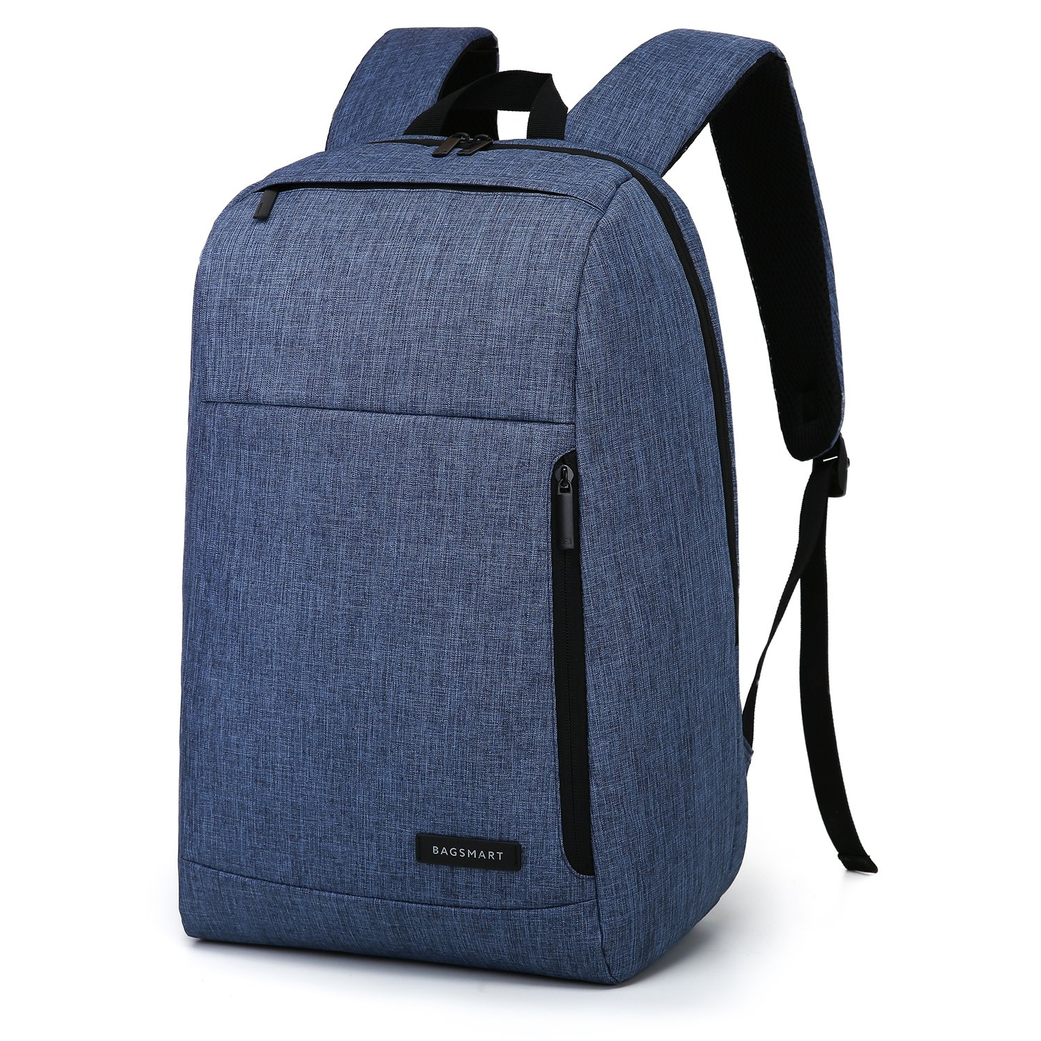 85%OFF BAGSMART Business Laptop Backpack Water Resistant Slim School Backpack Fits Up To15.6 Inch Laptops Notebook Tablets, Blue
