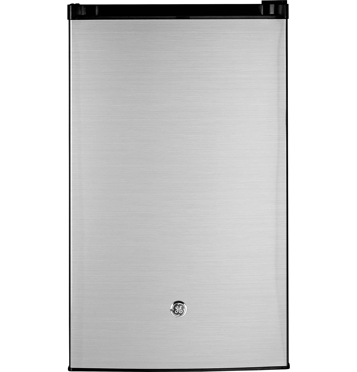 GE GME04GLKLB CleanSteel Compact Refrigerator