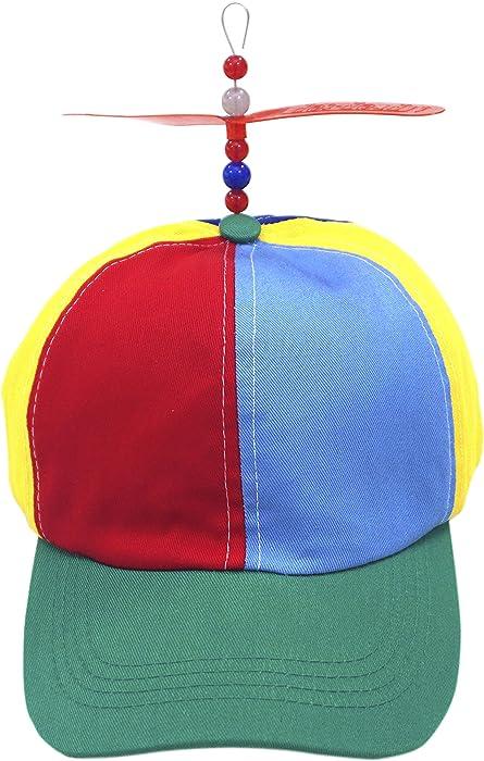 972a59c3c80 ... Kuzhi Multi-Color Propeller Hat - Baseball Style ...