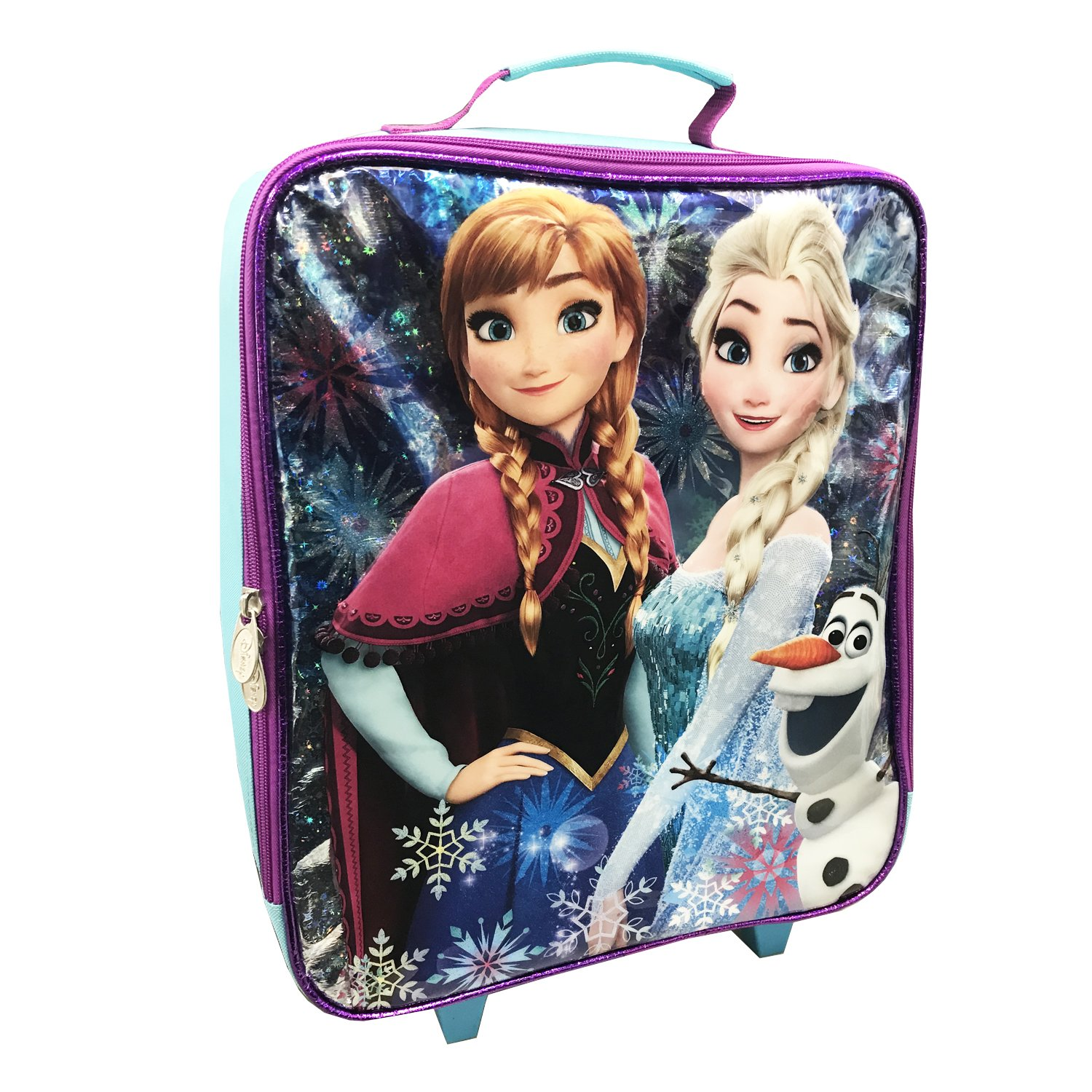 Disney Girls' Frozen Pilot Case, Purple