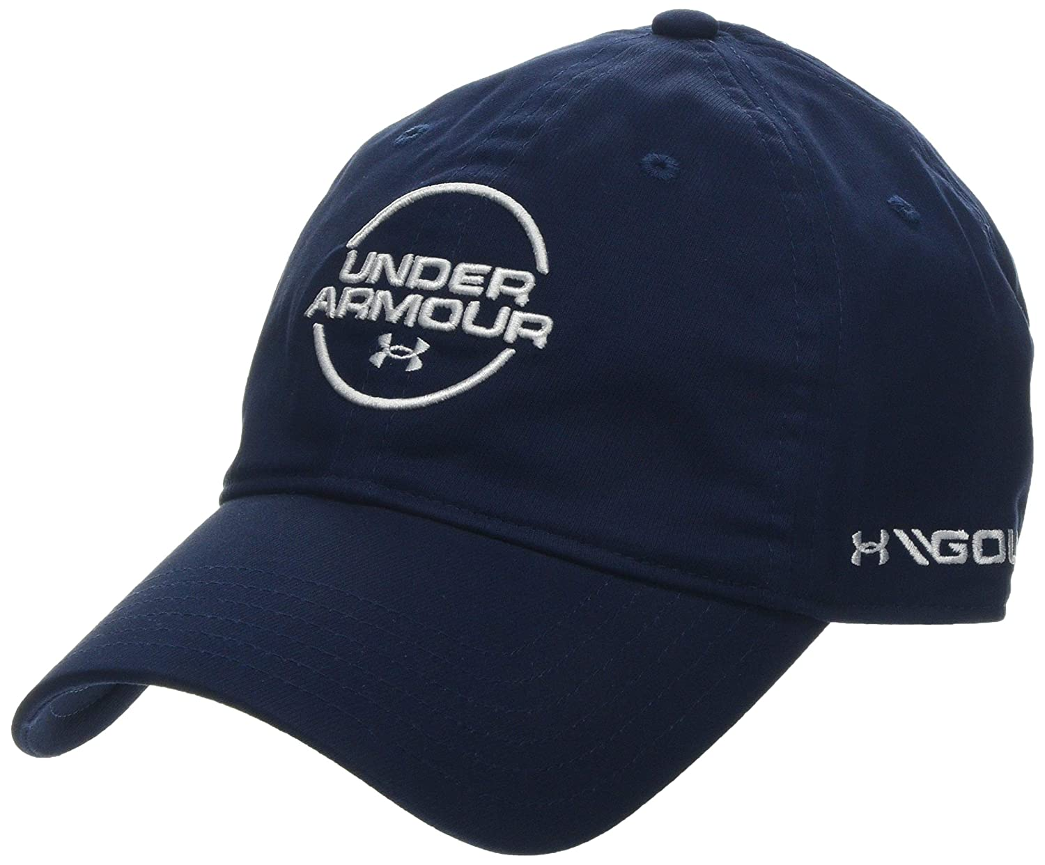 149813cb95e Amazon.com: Under Armour Jordan Spieth Washed Cotton Cap, Academy//White,  One Size Fits All: Sports & Outdoors