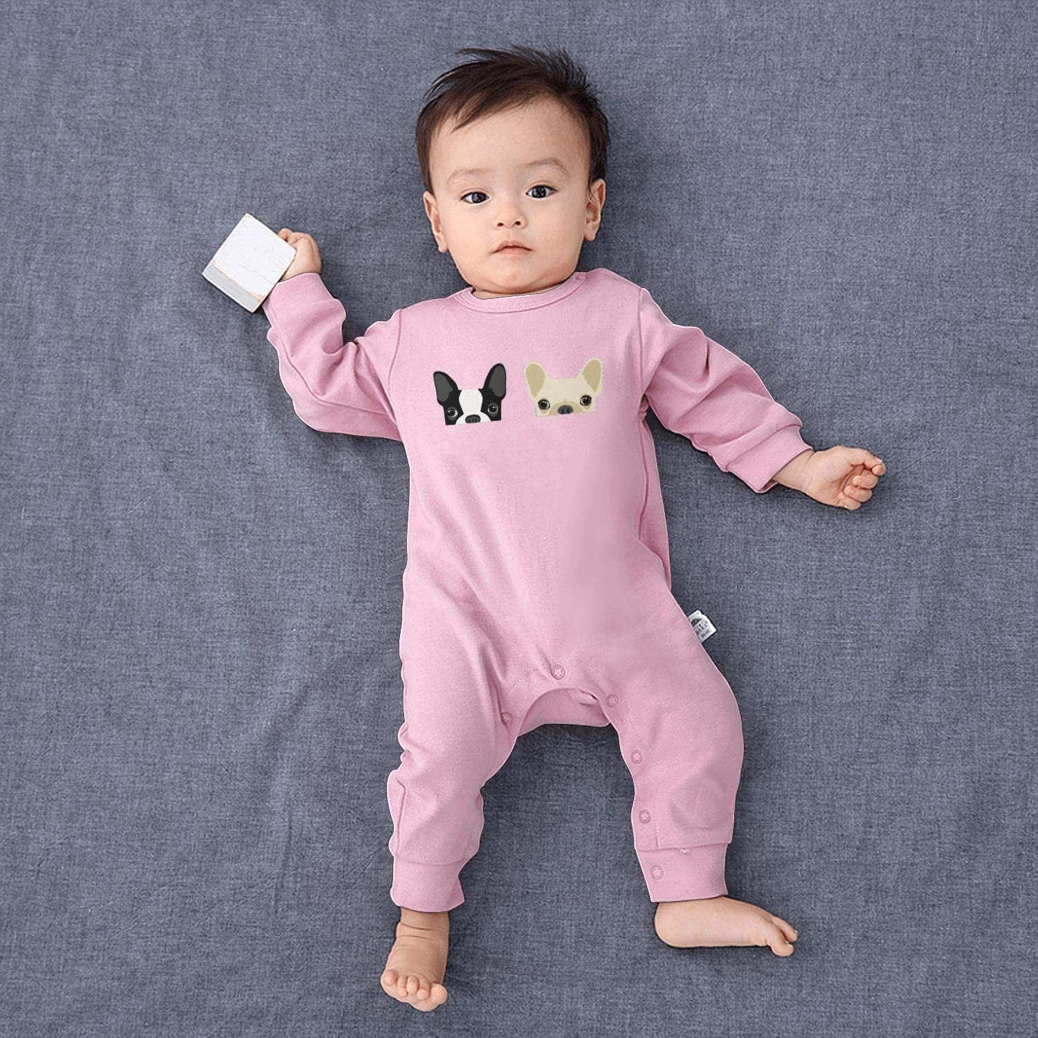 AKDJDS The Sloth Institute Costa Rica Baby Boys Girls Long Sleeve Baby Onesie Organic Romper Jumpsuit