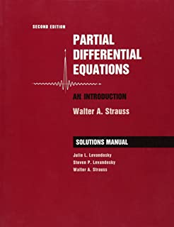 Partial differential equations an introduction walter a strauss student solutions manual to accompany partial differential equations an introduction 2e fandeluxe Choice Image