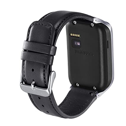 Samsung Smartwatch Replacement Band for Gear 2 - Black Leather (Discontinued by Manufacturer)