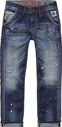 neuesten Stil preiswert kaufen begrenzte garantie Vingino Daniel Slim Fit Jeans Jungen Hose (12 - 152, Denim ...
