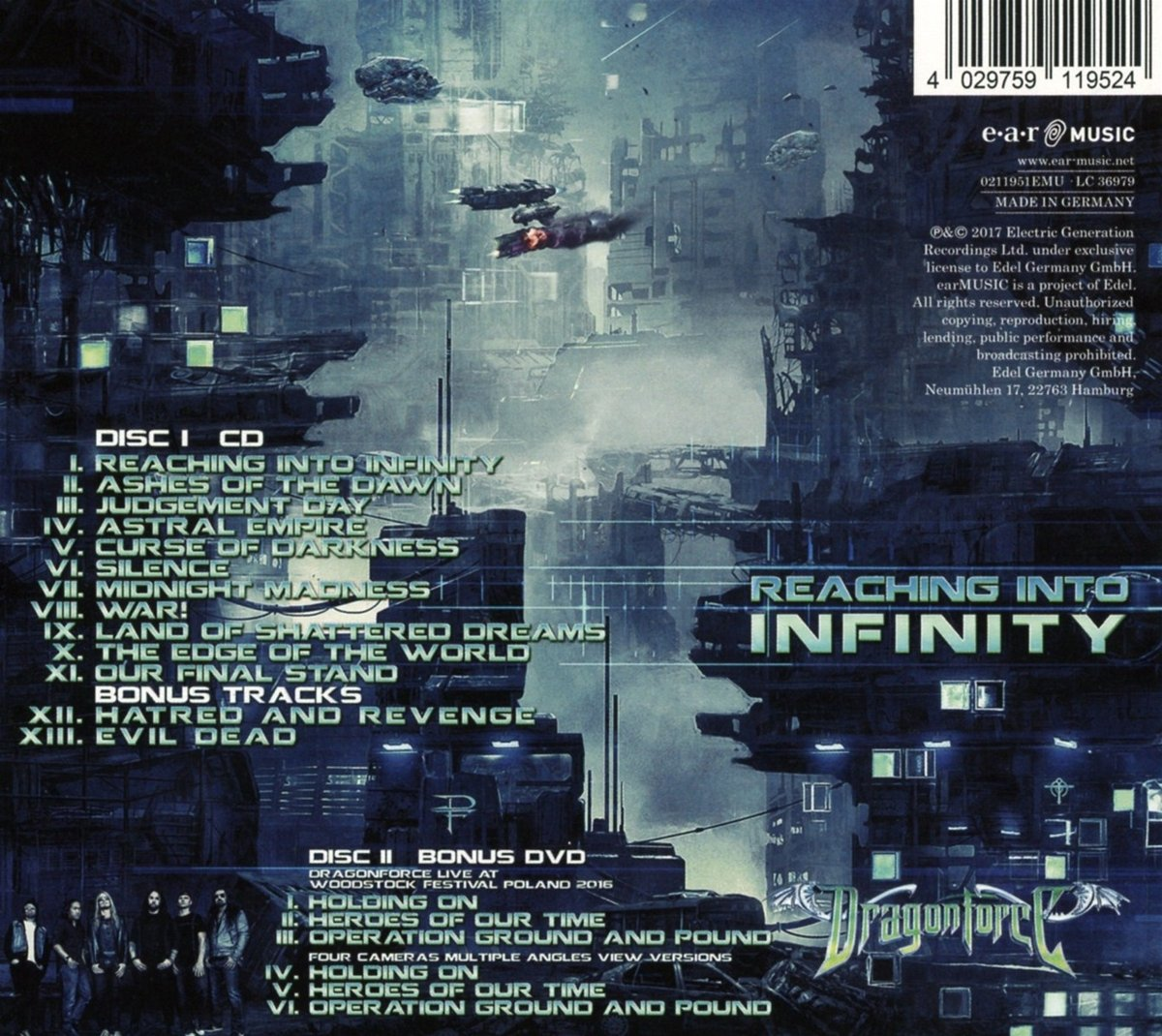 Reaching Into Infinity (Special Edition)   Dragonforce: Amazon.de: Musik