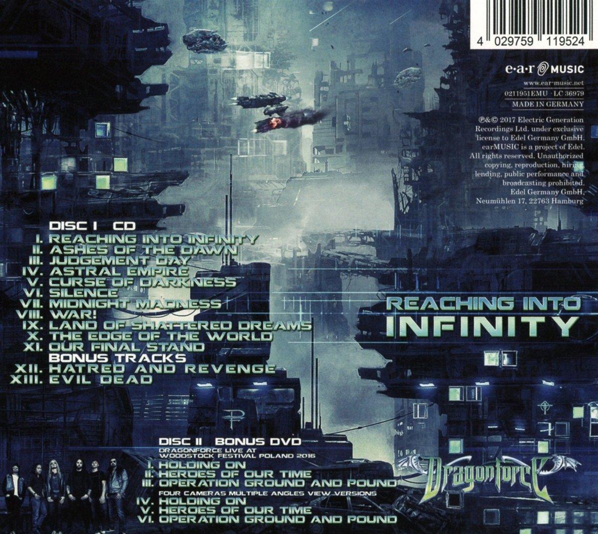 Reaching Into Infinity (Special Edition)   Dragonforce: Amazon.de: Musik