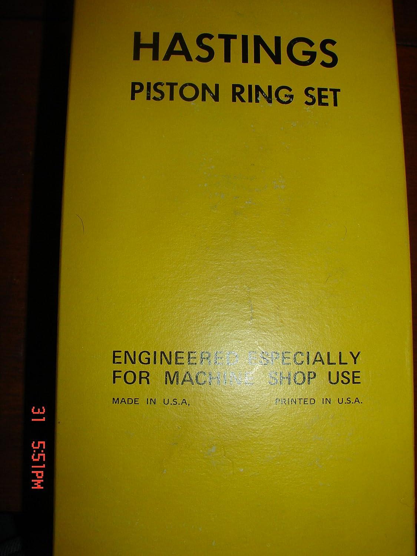 Hastings 6601S Single Cylinder Piston Ring Set