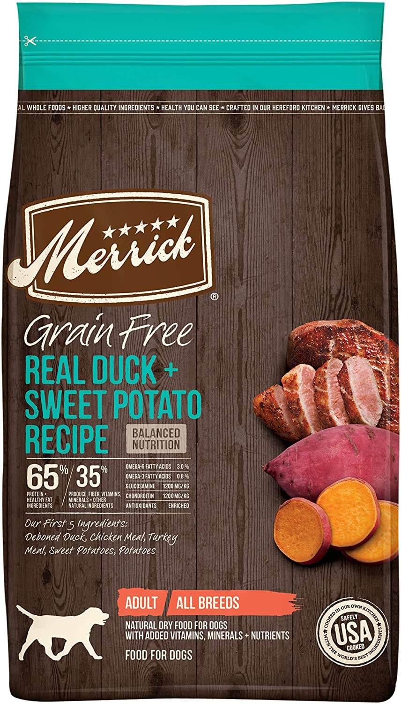Merrick Grain Free Dry Dog Food Real Bison