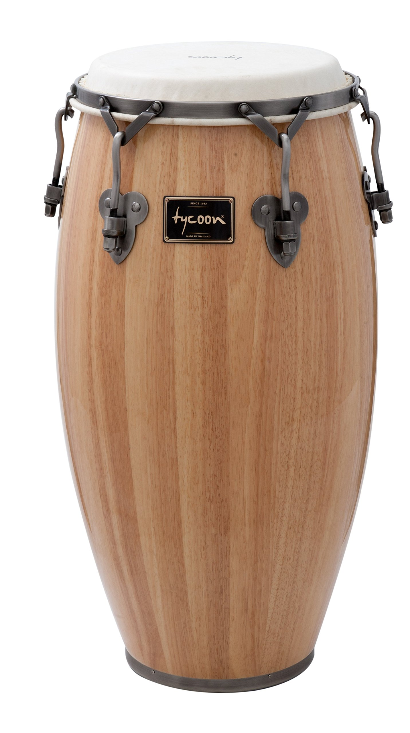 Tycoon Percussion 11 Inch Signature Classic Series Natural Quinto With Single Stand