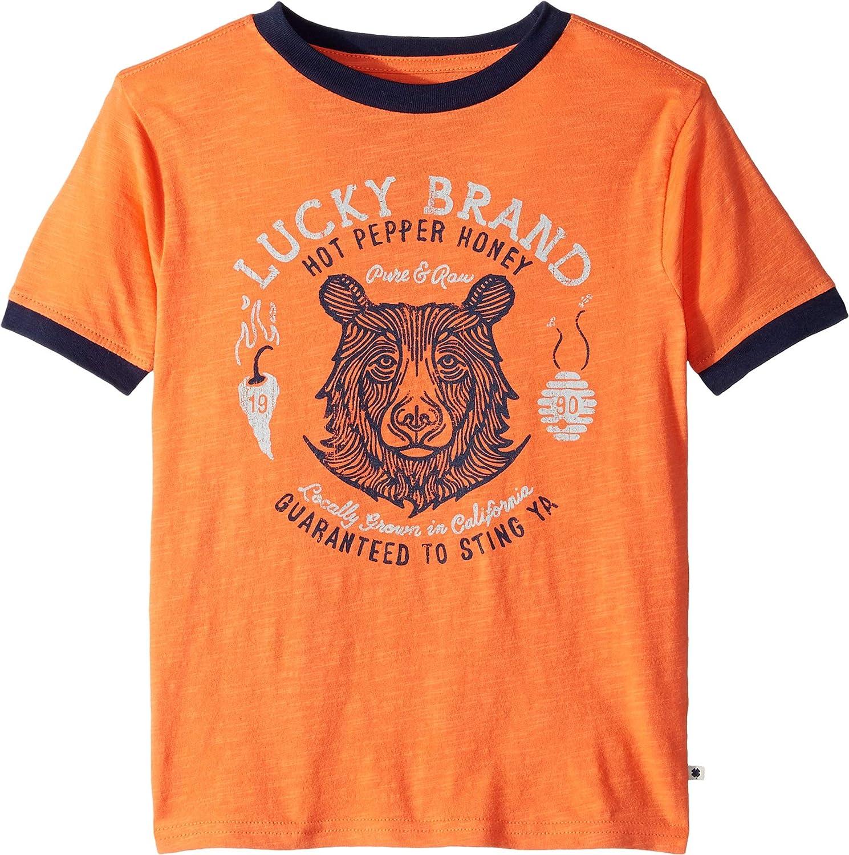 Little Kids//Big Kids Lucky Brand Kids Boys Hot Pepper Honey T-Shirt