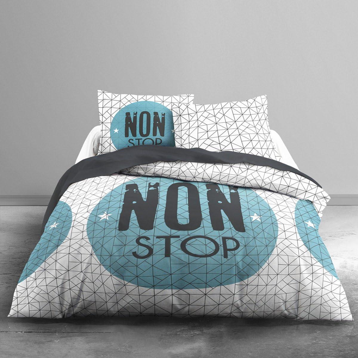 TODAY 013074 Enjoy Non Stop – Juego de Cama de algodón con Funda ...