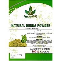 Havintha Natural Henna Powder for Hair 227g