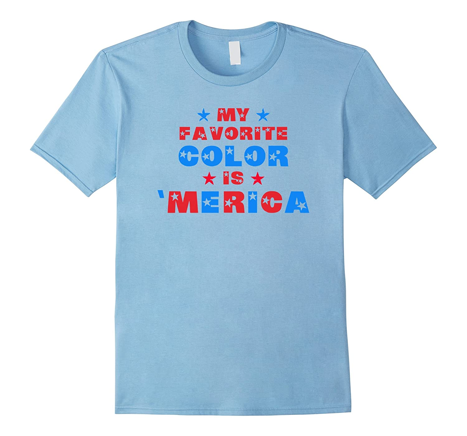 My Favorite Color is Merica-Popular 4th of July T-Shirt Gif-Vaci