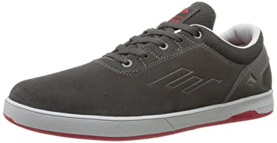 Mens Emerica The Westgate Cc Sneakers Grey/Red AFY22764