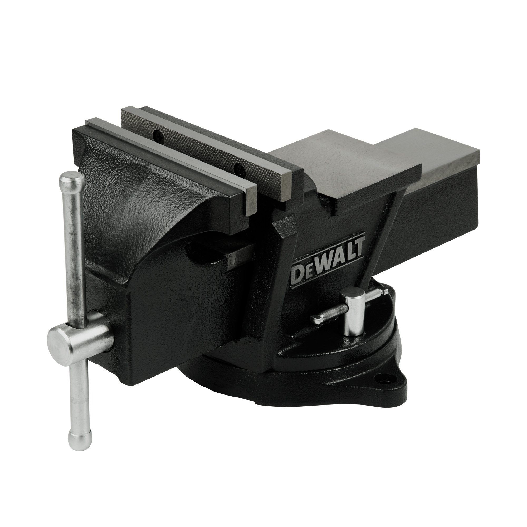 DeWalt DXCMBV6 6 In. Heavy-Duty Bench Vise with Swivel Base