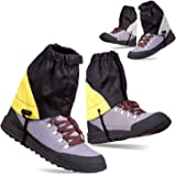 Waterproof Low Ankle Gaiters for Hiking - 2 PAIRS Leg Boots Cover Breathable Adjustable Packable Lightweight - Hiking Walking