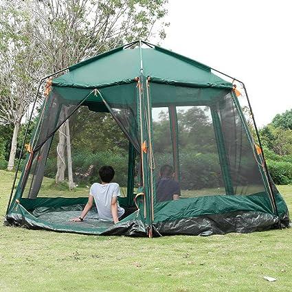 Amazon Com Peatao 8 Person Automatic Instant Tent Double