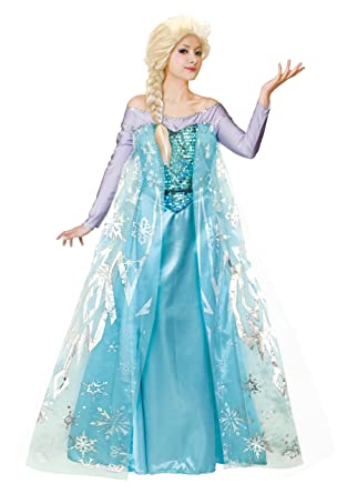 Amazon.com: Disney Frozen Costume - Elsa Costume - Teen ...