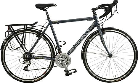 British Eagle Morgan - Bicicleta de Carretera, Color Negro/Gris ...