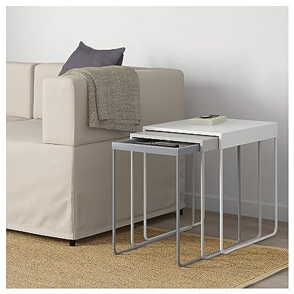 Surprising Amazon Com Ikea 503 511 75 Granboda Nesting Tables Set Squirreltailoven Fun Painted Chair Ideas Images Squirreltailovenorg
