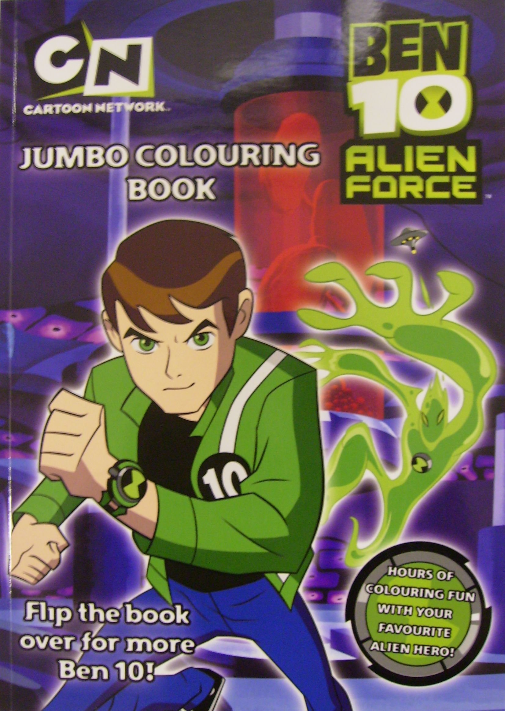 Ben 10 Jumbo Colouring Book: Amazon.es: Libros en idiomas extranjeros